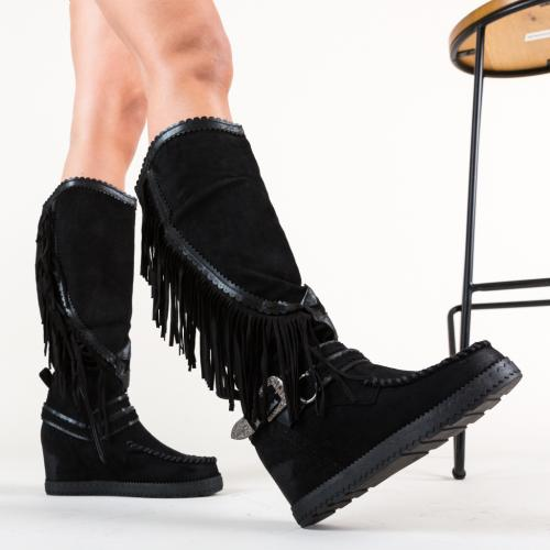 Cizme Carl Negre - Cizme femei - Cizme sub genunchi