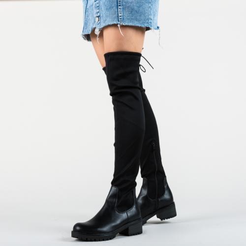 Cizme Zuniga Negre - Cizme femei - Cizme peste genunchi