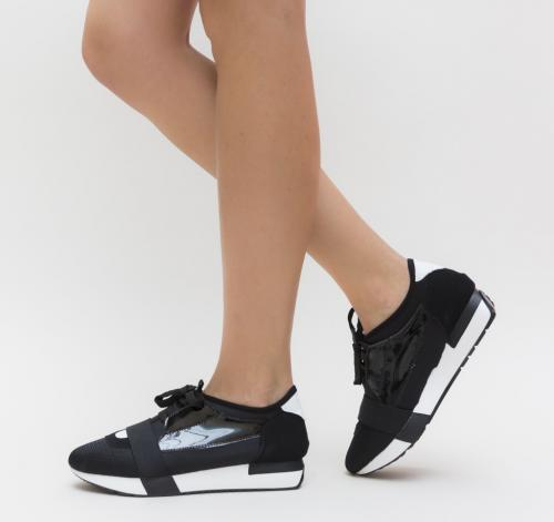 Pantofi Casual Ango Negri - Pantofi casual dama -