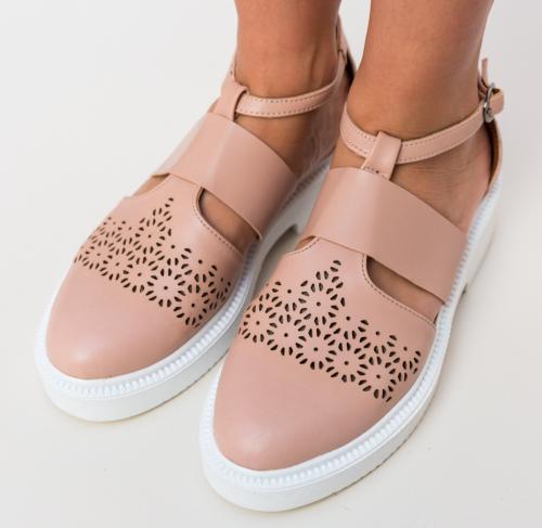 Pantofi Casual Bili Bej - Pantofi casual dama - Pantofi casual