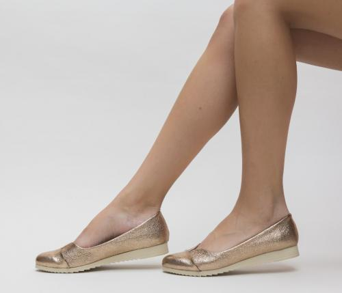 Pantofi Casual Bonton Bronz 2 - Pantofi casual dama - Pantofi casual
