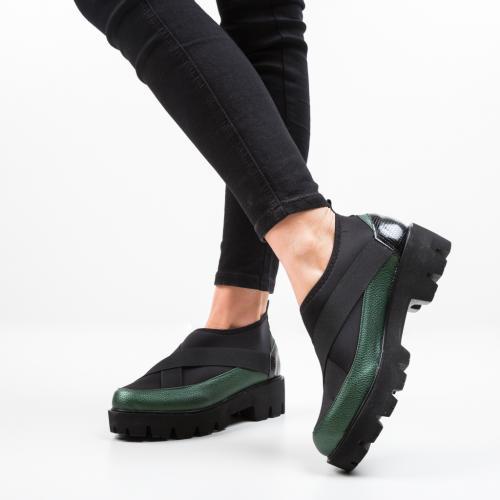 Pantofi Casual Buse Verzi - Pantofi casual dama - Pantofi casual
