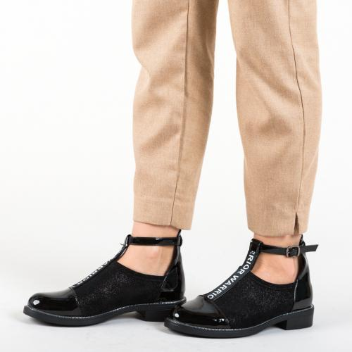 Pantofi Casual Cecily Negre - Pantofi casual dama - Pantofi casual