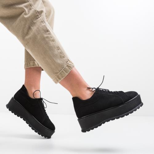 Pantofi Casual Dutano Negri 2 - Pantofi casual dama - Pantofi casual