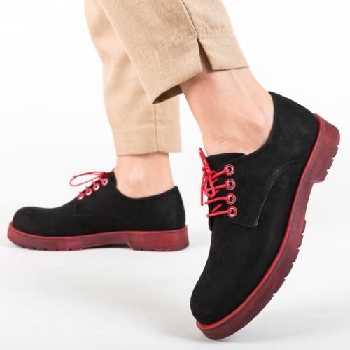 Pantofi Casual Flavored Rosii - Pantofi casual dama - Pantofi casual