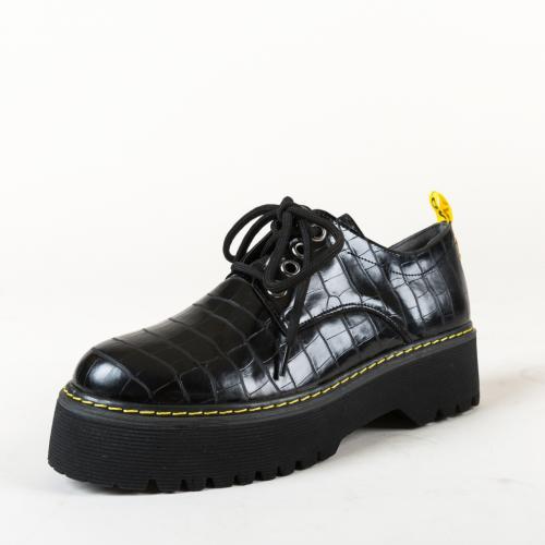 Pantofi Casual Night Negri 2 - Pantofi casual dama -