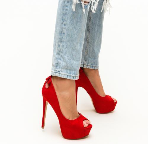 Pantofi Huda Rosii - Pantofi - Pantofi cu platforma