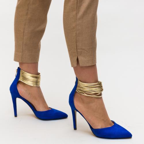 Pantofi Kaia Albastri - Pantofi - Pantofi cu toc subtire