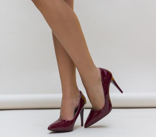 Pantofi Kalifa Grena - Pantofi - Pantofi cu toc subtire