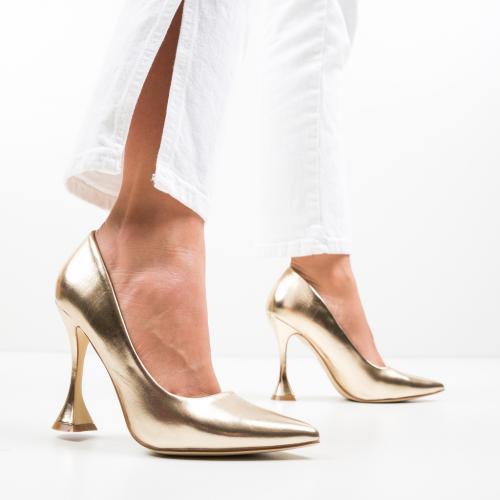 Pantofi Lena Aurii - Pantofi -