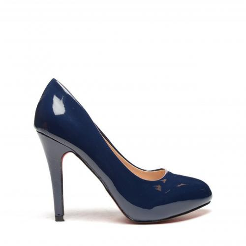 Pantofi Namada Albastri - Pantofi - Pantofi cu toc subtire