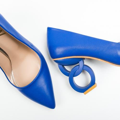 Pantofi Simoni Albastri 2 - Pantofi - Pantofi cu toc subtire