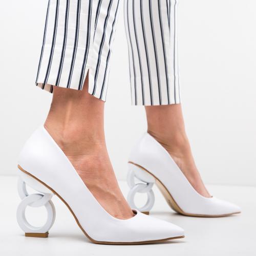 Pantofi Simoni Albi 2 - Pantofi - Pantofi cu toc subtire