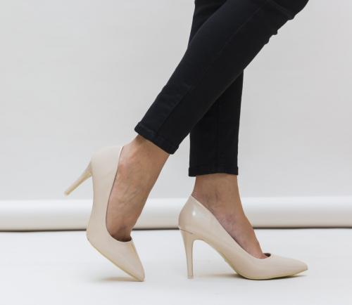 Pantofi Solary Bej - Pantofi - Pantofi cu toc subtire