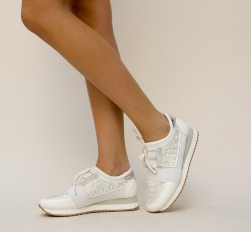 Pantofi Sport Halki Albi - Pantofi sport - Pantofi sport