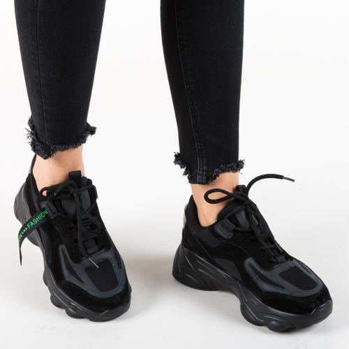 Pantofi Sport Solis Negri 2 - Pantofi sport - Pantofi sport