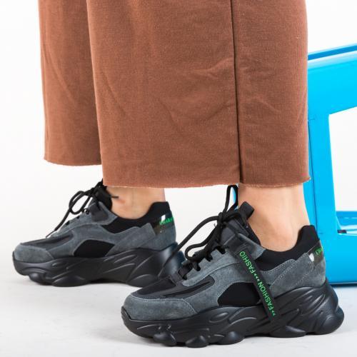 Pantofi Sport Solis Negri - Pantofi sport - Pantofi sport
