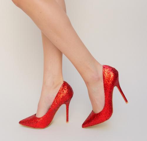 Pantofi Stoko Rosii - Pantofi - Pantofi cu toc subtire
