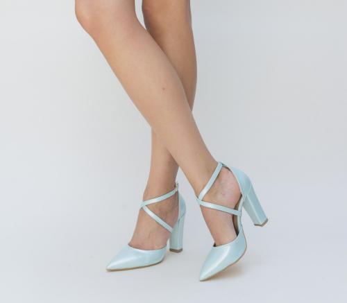 Sandale Combro Turcoaz - Sandale dama - Sandale toc gros