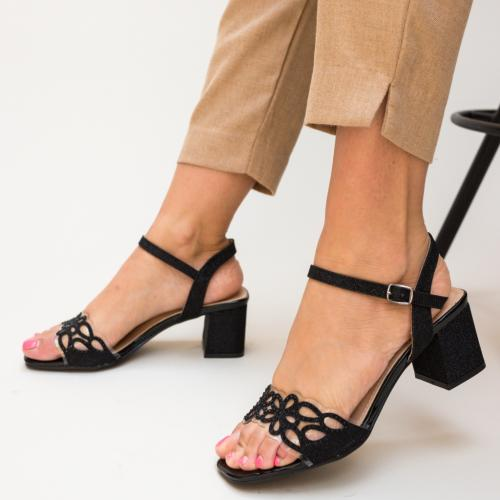 Sandale Esme Negre - Sandale dama - Sandale toc mic