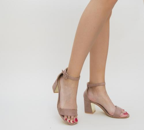 Sandale Samuela Roz - Sandale dama - Sandale cu toc