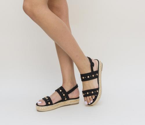 Sandale Yagor Negre - Sandale dama -